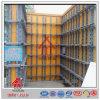 Konkreter Aufbau montieren Scherkraft-Wand-Verschalung vor