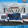 Alquiler a todo color P4.81 panel de la pantalla LED para hacer publicidad