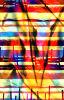 Tela impresa color brillante para la tela del traje de baño (ASQ077)