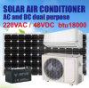 Solarklimaanlage, auf Rasterfeld, DC/AC verdoppeln Energie