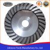 roda do copo de 125mm Turbo com núcleo de alumínio para a moedura de pedra