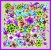 Изготовленный на заказ шарфы печатание 100% цифров Silk (F13-0080)