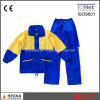 安い雨上塗を施してある防水レインコート均一PVC雨スーツ