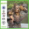 راتينج برونزيّ [إيندين] وحصان حجر السّامة تمثال صغير تمثال ([نف86125])