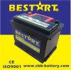 Qualidade superior 55ah 12V SMF da fábrica de China que liga a bateria de carro DIN55559-Mf da bateria