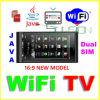 Teléfono móvil de WiFi TV, venda C5000 del patio