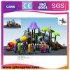 Скольжение спортивной площадки популярных детей напольное для парка с сертификатом TUV