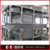 O profissional personaliza a fabricação da construção de aço