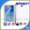 MTK6577 Note2 7100 3G de Androïde Mobiele Telefoon van Cel 4.1