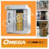Forno giratório da cremalheira do pão do cozimento do aço inoxidável (R5070C)