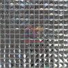 Azulejo de mosaico cristalino del diamante brillante de plata (CFC211)