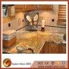 Bancada natural popular da cozinha do granito