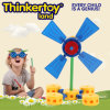 2015 plástico Windmill Educational Nursery Toys para Girl