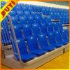 Durable de China Sillas de tribuna retráctil Artículos deportivos con madera sólida Apoyabrazos abatibles asientos de plástico al por mayor del Estadio