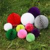 Fiesta de cumpleaños del niño de primero de colores de papel Honeycomb Balls