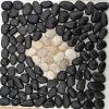 Decorazione delle mattonelle della pietra del nero di alta qualità delle mattonelle