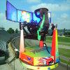 F1 che guida la macchina del gioco dell'automobile che corre la macchina del gioco della galleria del simulatore