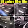 Обруч автомобиля пленки волокна углерода винила 5D тела автомобиля Adehesive собственной личности