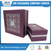 Textura vazia Custom Food Container Gift Mooncake Box Packaging