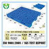 pálete plástica usada da carga 1400X1100 equipamento resistente inoxidável