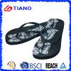 Flops Flip повелительницы Лета Пляжа с черной верхушкой PVC (TNK10030)