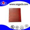De rode Raad van PCB Soldermask met het Tin van de Onderdompeling