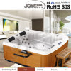 Dos Persons Massage Bathtub&Three Persons Massage Tub&2015 Good Price Whirlpool Massage Tubs con Jacuzzi Function