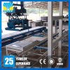Máquina de moldear del bloque del cemento de la eficacia que se enclavija alta Qt15