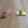 작은 접어젖힌 옷깃 Pin 사기질 접어젖힌 옷깃 Pin 깃발 접어젖힌 옷깃 Pin