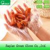 Bester verkaufenprodukt-preiswerter wegwerfbarer Nahrung-LDPE-Handschuh