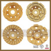 Stone Conctere (SY-DCGW-96)를 위한 다이아몬드 Cup Grinding Wheel