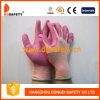 Нейлон с перчаткой связанной полиэфиром PU Coated перчатки безопасности Dpu111