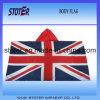 Горячий рекламируя флаг тела печати Красить-Сублимации UK
