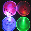 Insignes acryliques de Pin du rond LED avec le logo imprimés (3569)