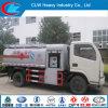 Mini camion de réservoir de ravitaillement de Foton 4*2 5 Cbm avec la machine de remplissage