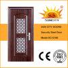 Portes simples de sécurité de porte en acier extérieure (SC-S166)