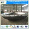 炭素鋼の皿に盛られた楕円のヘッドエンドQ345r