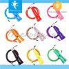 熱い販売の安い調節可能なケーブルワイヤー速度の縄跳びの省略ロープ