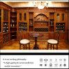 بطّ كلاسيكيّة [بروون] [بفك] كبيرة خشبيّة خمر خزانة
