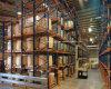 Hochleistungslaufwerk durch Ladeplatten-Zahnstange für Lager-Bildschirmanzeige-Racking