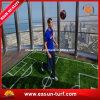 Hoog - Gras van het Gras van de Voetbal van de dichtheid het Kunstmatige
