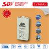 batteria al piombo del AGM 2V100ah per le Telecomunicazioni