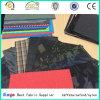 Bolsos y equipaje utilizaron 100% poliéster PU / PVC recubierto Tela jacquard en Fashion Designs