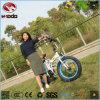 bicyclette se pliante électrique de mini de la femme 250W vélo pliable de type avec le gros pneu