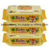 Perfume molhado personalizado fábrica do limão de 90 Wipes do bebê do PCS