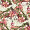Tessuto di seta della bella di disegno stampa di Digitahi (XF-0004)