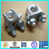Clips malléables galvanisés par DIN741 de câble métallique