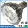 Luz de la IGUALDAD de la lámpara 10W del punto de IP20 5*2W PAR30 LED