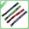 Kundenspezifisches Berufsfestivalgewebe gesponnene Wristbands