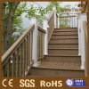 Fußbodenbelag--StrichleiterDecking verschalt im Freienplattform für Treppe